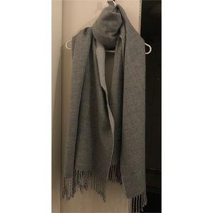 H&M Divided- Soft Grey Blanket Scarf